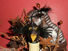 Crazy Crow Fall/ Autumn/Thanksgiving Silicon Handcrafted 7 Watt Light Bulb