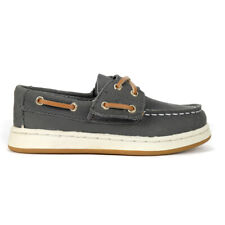 Sperry Top-Sider Boys Sperry Cup II Grey Boat Shoes STL261420 NEW