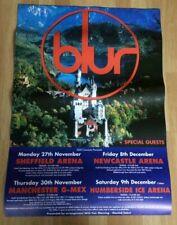 More details for blur original uk large tour poster 59cm x 83cm great escape tour 1995
