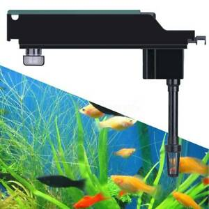 500L/H-1100L/H Aquarium Fish Tank Upper Box Filter Systems Water Pump Supplies