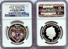 2012P Tuvalu 50 Cent 1/2 oz Koala Forever Love NGC PF 69 Ultra Cameo Early Rel