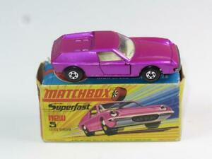 MATCHBOX SUPERFAST 05 Lotus Europa FACTORY MINT in H1 Box