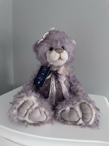 CHARLIE BEARS ISABELLE COLLECTION MADAME BUTTERFLY MOHAIR LTD EDITION LILAC