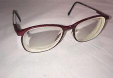 Marchon Maroon CFG-17 Eyeglasses Frames MADE IN JAPAN 53[] 13 135