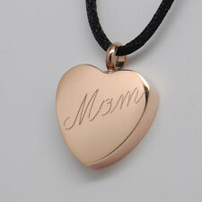 ROSE GOLD MOM URN NECKLACE MOM CREMATION JEWELRY MOTHER URN CREMATION MEMORIAL