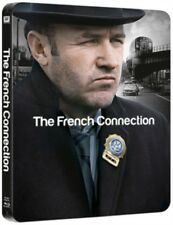 The French Connection Limited Edition Steelbook Blu Ray REGION FREE NEW & SEALED