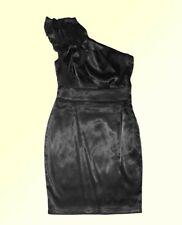 Noir Mini Robe Robe Femme Robe de Soirée Ballkeid Robe sans Bretelles GR. XS 34