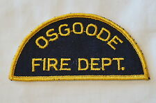 Canadian Ontario Osgoode Fire Dept Patch 3 Obsolete