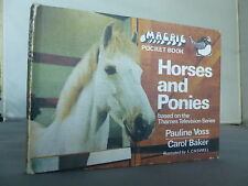 Horse and Ponies - Magpie Pocket Book - TV Show HB 1969 Illustrated