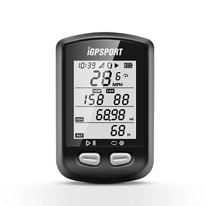 GPS SMART BIKE CYCLING COMPUTER IGPSPORT iGS10 Bluetooth Ant+ LCD Display UK