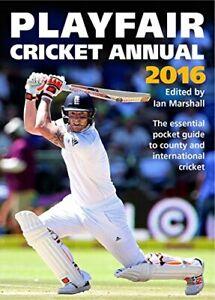 Playfair Cricket Annual 2016 By Ian Marshall