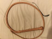 VICTOR TELLA 5FT BULLWHIP LEATHER FETISH NOVELTY