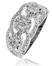 Diamond Wedding Ring 1.35ct F VS Brilliant Cut in 18ct White Gold