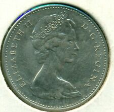 1971 CANADA FIVE CENTS, CHOICE BRILLIANT UNCIRCULATED, GREAT PRICE!