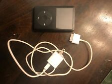New Listingapple ipod classic 6th generation black 80 gb