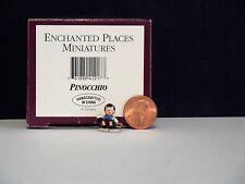 WDCC Disney Enchanted Places Miniatures ~ Pinocchio~ MIB COA