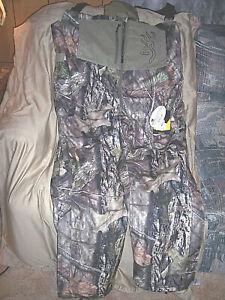 Mens 3X Bib Overalls Browning Bibs Hunting Coveralls Insulated Bib Overalls $260