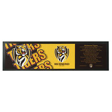 RICHMOND TIGERS AFL Bar Runner Mat for Man Cave Snooker Pool Cue Room