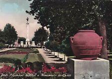 FORLI' - Giardini Pubblici e Monumento ai Caduti 1959