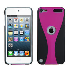 Wave Back Protector Cover (Rubberized) for APPLE iPod touch 5th 6th generation