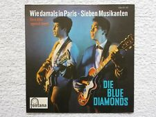 "Vinyl-7""-Cover # only Cover # Blue Diamonds # Wie damals in Paris # 1961 # m-"