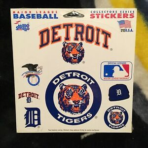 Detroit Tigers. Mello Smello Sticker set. New in shrink.