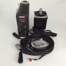NEMA34 4NM 1KW 1000W 220V 2500R/Min AC Servo Drive+Motor Kit Textile Machinery
