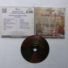 CD Album Messe de Sainte Cécile Ensemble vocal STEPHANE CAILLAT EVE PAYEUR Percu