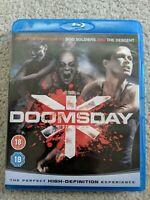 Doomsday Blu-Ray (2008) Rhona Mitra, Marshall (DIR) cert 18 Fast and FREE P & P