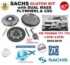 pour VW TOURAN 1T1 1T2 1.9 2.0 TDI KIT EMBRAYAGE 2003-2010 Avec Volant CSC