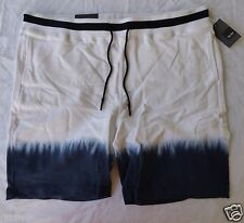 MOSSIMO Men's Shorts Brand New w/ tags White and Blue Size Large NWT  Gym Sleep
