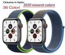 Cinturino Nylon Tex Compatible Apple Watch Serie 6/5/4/3/2/1 38/40mm 42/44 ✅