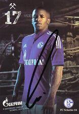 Jefferson Farfan + FC Schalke 04 + Saison 2014/2015 + Original Autogrammkarte