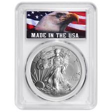 2016 $1 American Silver Eagle PCGS MS69 USA Label