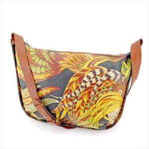 Salvatore Ferragamo Shoulder bag Brown Black Woman Authentic Used T5728