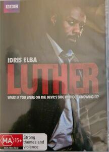 Luther season 1 (2010) DVD region 4; Idris Elba