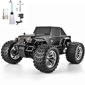RC TRUCK 1:10 NITRO GAS POWER HOBBY CAR TWO SPEED OFF ROAD TRUCK 4WD HIGH SPEED