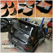 Volkswage Golf R32 diffuser fins/Volkswagen Golf mk5 diffuser/Golf diffuser