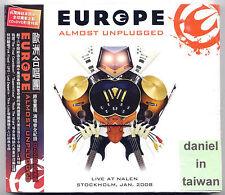 Europe: Almost Unplugged (2008) CD & DVD OBI TAIWAN