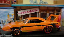 2013 MUSCLE MANIA  Design Ex '70 PLYMOUTH SUPERBIRD~Orange~New LOOSE~Hot Wheels