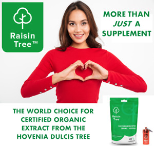 Raisin Tree™ - Dihydromyricetin (DHM) - 45 High Strength 400mg Capsules
