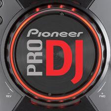 PIONEER cdj400 PRO DJ (ROSSO) JOG SLIPMAT grafica / Serato Traktor CDJ 400