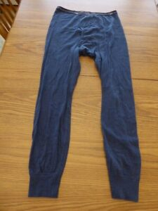 Vintage Duofold Men's Medium Thermal Bottoms Double Layer Long Johns Cotton Poly