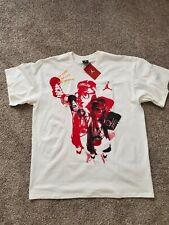 Jordan Shirt Adult 2Xl Xxl White Red Spike Lee Jumpman Basketball Mens *
