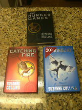 Set The Hunger Games book lot Mockingjay Catching Fire Hardcover Suzanne Collins