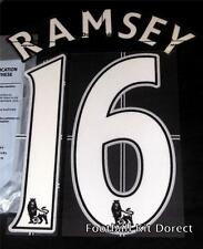 Arsenal Ramsey 16 Name/Number Set Football Shirt Lextra 07-13 Sporting ID Home