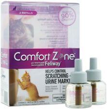 New listing Comfort Zone Feliway Cat Kitten Calming Refill 48ml Bottles 2-Pack