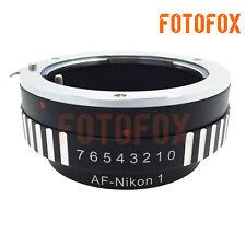 AF-N1 Sony Alpha Minolta AF to Nikon 1 Lens Mount Adapter J1 J2 J3 V1 V2 MA-N1