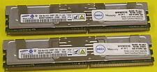 DELL SNPM788DCK2/16G 16GB 2x 8GB PC2-5300F DDR2 667 M395T1G60QJ4-CE68 16xAvail