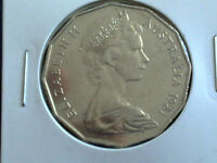 AUSTRALIAN 50 CENT 1981 - EXTREMELY FINE CIRCULATED
